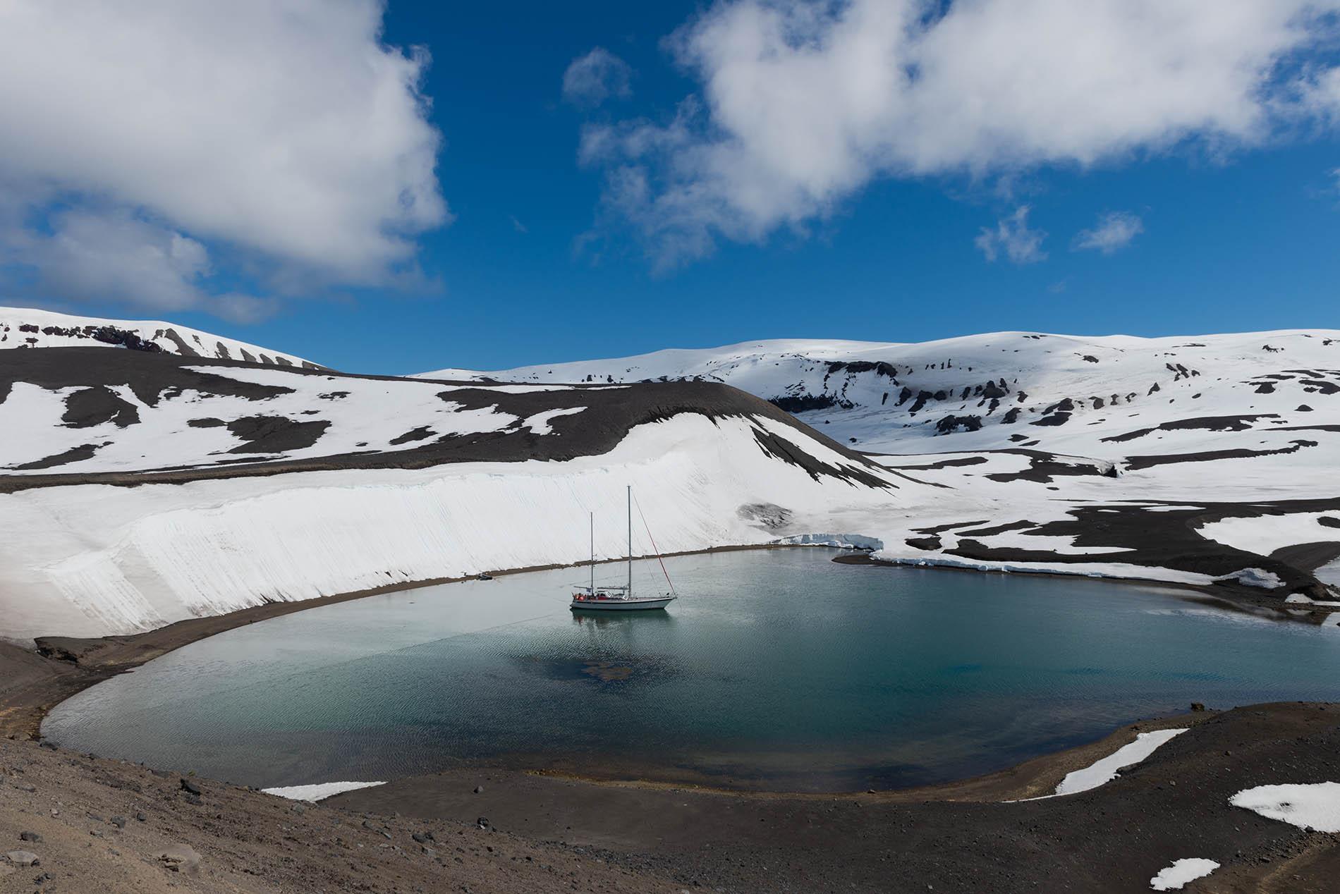 Isla Decepción en la Antártida